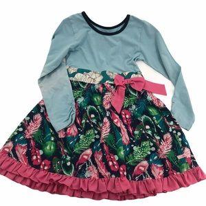 Sz 8 Ruffle Butts GUC Boutique Dress